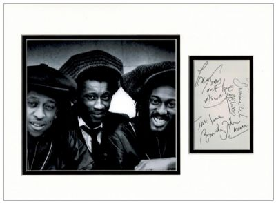 Aswad Autograph Signed Display